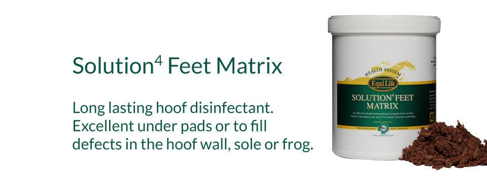 Solution4 Feet Matrix